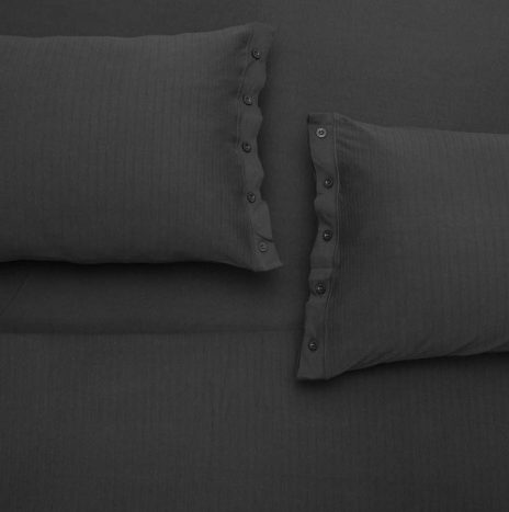 Madrid double sheet set – Dark Grey