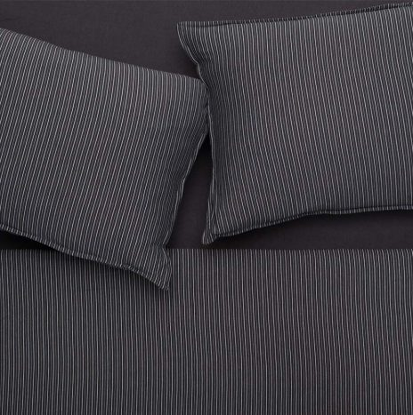 Mallorka Double Sheet set – Dark Grey