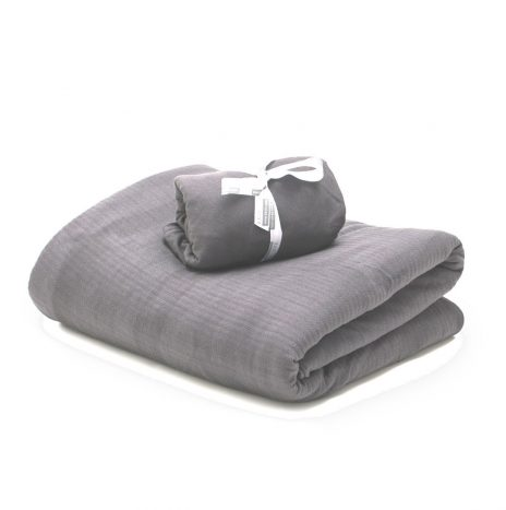Madrid Baby sheet set – Grey