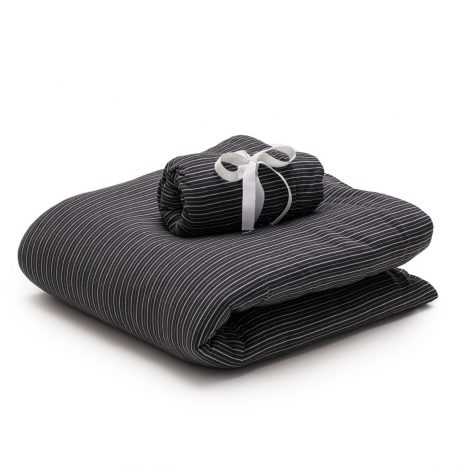 Mallorka Baby sheet set – Dark Grey