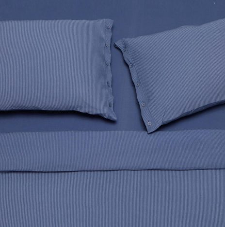 Lille double sheet set – Blue