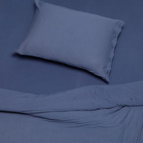 Lille Single sheet set – Blue
