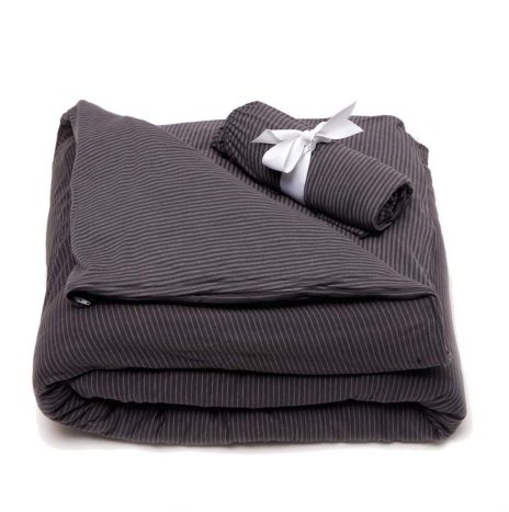 Lille Baby sheet set – Dark Grey