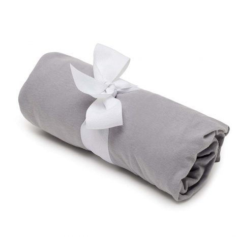 Baby fitted sheet – Grey