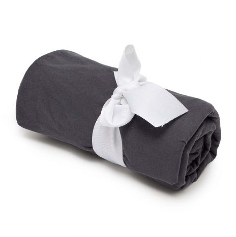 Baby fitted sheet – Dark Grey