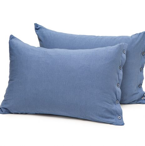 Lille pillow case – Blue