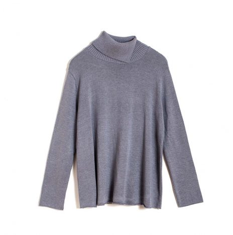 Mariselle Turtle Neck –  Grey