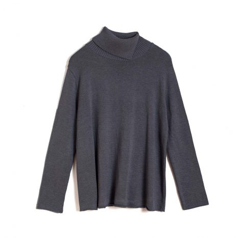 Mariselle Turtle Neck –  Dark Grey