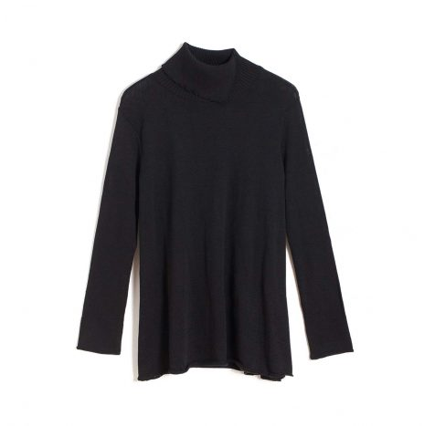Mariselle Turtle Neck –  Black