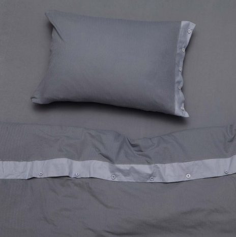 Logan Single Sheet Set – Grey