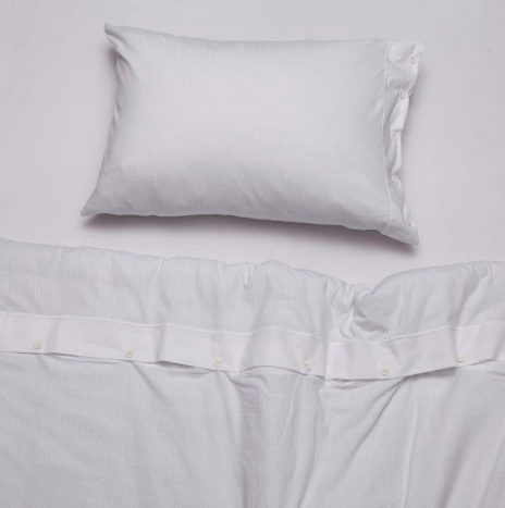 Logan Single Sheet Set -White