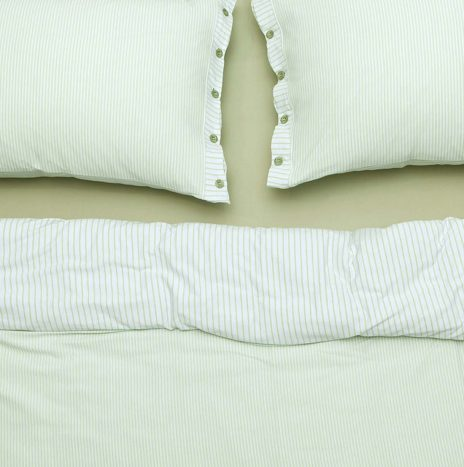 Goldy Double Sheet Set – Green