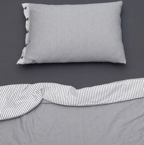 Goldy Single Sheet Set – Dark Grey