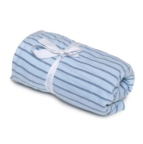 Goldy Baby Fitted Sheet – Blue