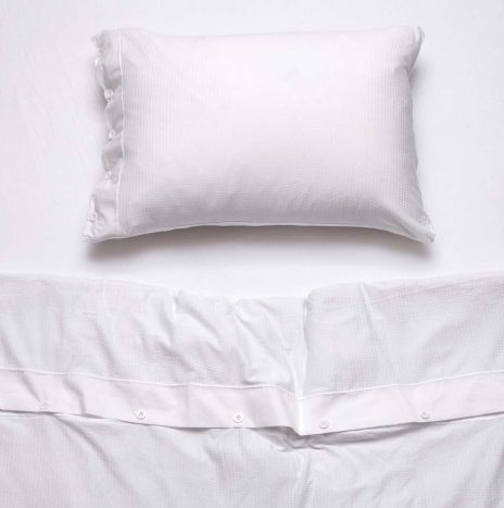 Villa Single Sheet Set – White