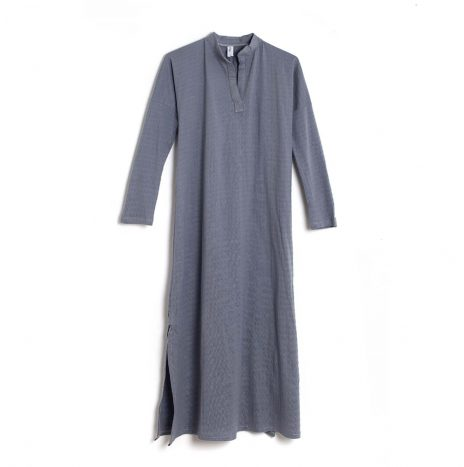 Ronna Galabia Dress – Grey
