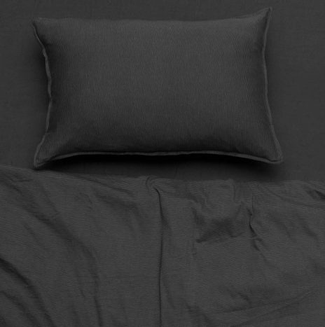 Soho Single Sheet Set – Dark Grey