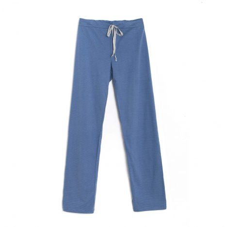 Soho Draw String Pants – Blue