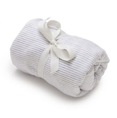 Soho Baby Crib Sheet – White