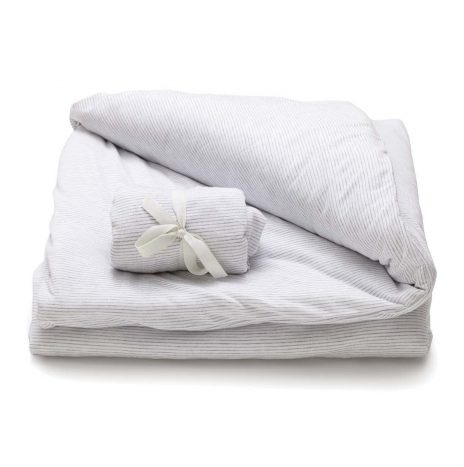Soho Baby Sheet Set – White