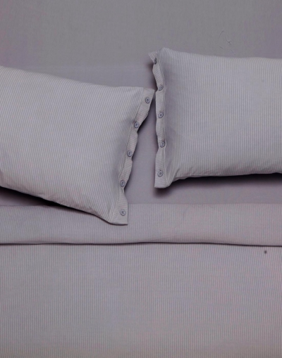 Lille double sheet set - Grey