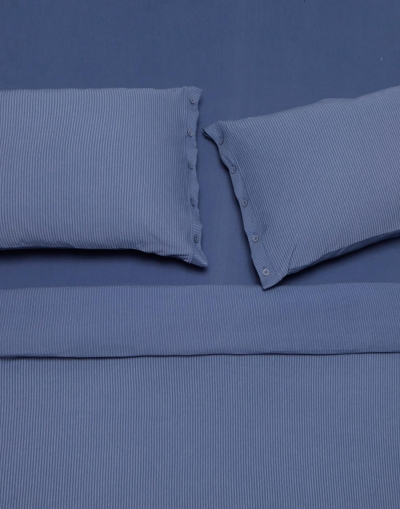 Lille double sheet set - Blue