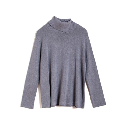Mariselle Turtle Neck -  Grey