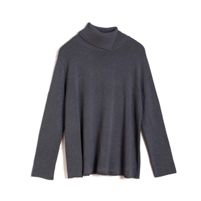 Mariselle Turtle Neck -  Dark Grey