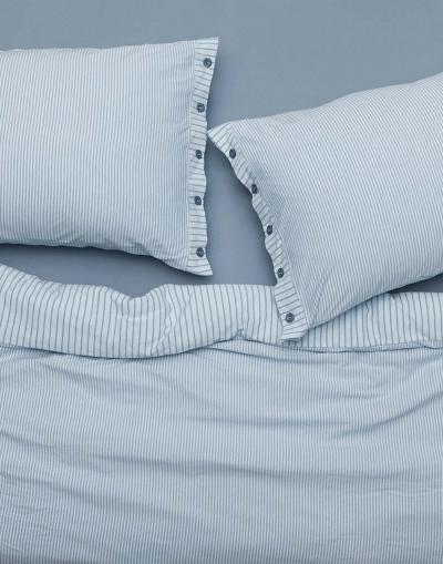 Goldy Double Sheet Set - Blue