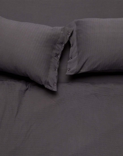 Ronna Double Sheet Set - Dark Grey